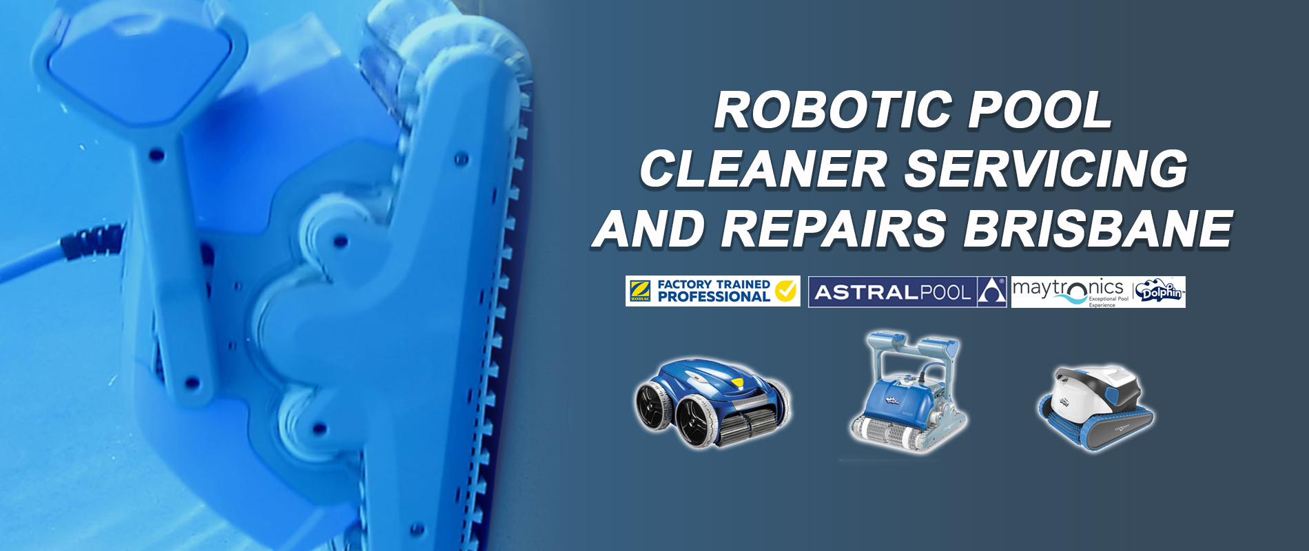 Robotic Pool Cleaner Service & Repairs